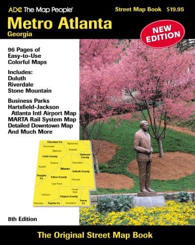 Download ADC The Map People Metro Atlanta, Georgia (American Map Regional Atlas: Metro Atlanta) pdf epub