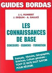 LES CONNAISSANCES DE BASE (Ancienne Edition)