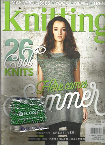 KNITTING MAGAZINE, 26 COOL KNITS HERE COMES SUMMER JULY, 2017 ISSUE # 169 PRINTED IN UK ( PLEASE NOTE :: ALL THESE MAGAZINES ARE PET & SMOKE FREE MAGAZINES. NO - Universal Single 169