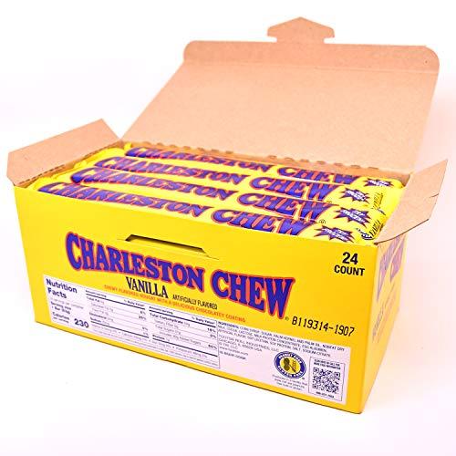 Charleston Chew Vanilla Flavor, Pack of 24 1.88-Oz. Bars ()