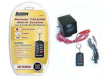 Bulldog Remote Talking Alarm System Bulldog Security 2030