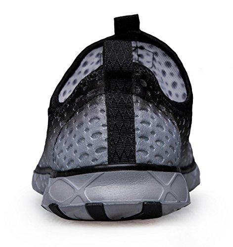 Schnell trocknende Aqua-Wasser-Schuhe der Zhuanglin Männer Schwarz 035