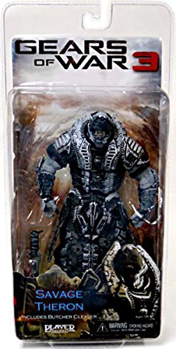 Gears of War NECA 3 Series 3 Action Figure Savage Theron Version 2