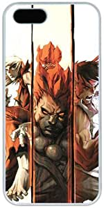 Street Fighter Retro For Ipod Touch 5 Phone Case Cover Hard Shell White Cover Cases by iCustomonline
