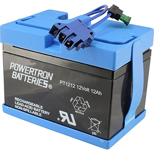 Universal Peg Perego Replacement 12V Battery for John Deere Tractor Ride-on-Toy