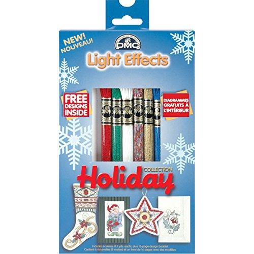 Dmc Light Effects Floss Pack 8.7yd 6/Pkg-Holiday ()