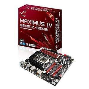 Asus Maximus IV GENE-Z/GEN3- Placa Base Intel 32 GB, DDR3-SDRAM