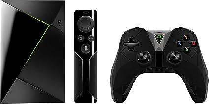 Nvidia Shield TV - Reproductor de streaming para jugadores + Mando inalámbrico, resolución 4K HDR, memoria interna de 16 GB, 3 GB de RAM, Android 7.0, negro: Amazon.es: Informática