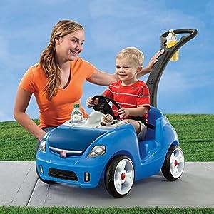 Step2 Whisper Ride II Ride On Push Car, Blue