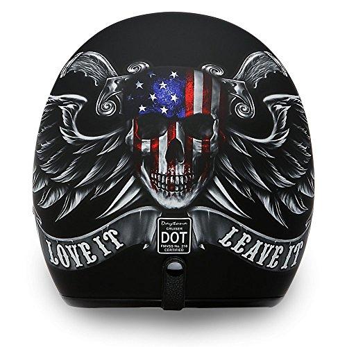 D.O.T. Daytona Cruiser- W/Love It- Daytona Helmets