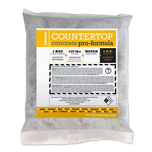 (Cheng Concrete Countertop Pro-Formula Mix - Platinum)