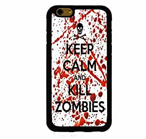 Keep Calm and Kill Zombies iphone 4s ( Inch Screen) Rubber Case