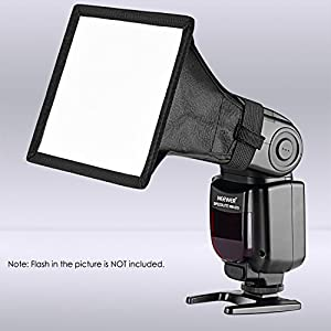 Neewer 6x5 inches/15x13 centimeters Speedlite Softbox Flashlight Diffuser Kit by Neewer
