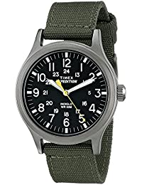 Men's T49961 Expedition Scout Green Nylon Strap Watch
