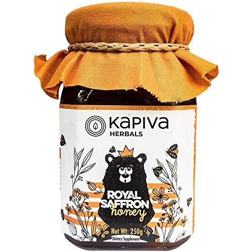 Kapiva Herbals Honey Organic Pure Raw Royal Saffron 100% Natural Bee Honey