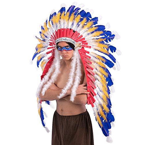 Carnival Toys 1915Indian Feather, One Size