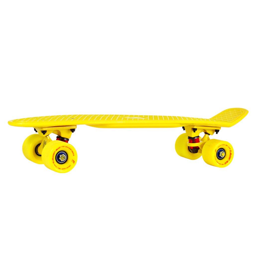 【格安saleスタート】 ドリフトボードフリーラインスケートフラッシュアダルトチルドレンプロフェッショナルスケートボーダートラベルサイレント4輪ダイナミックボード(1P) B07FRNNJ71 Yellow Yellow B07FRNNJ71 Yellow Yellow, 国分グリーンファーム:64488b6f --- a0267596.xsph.ru