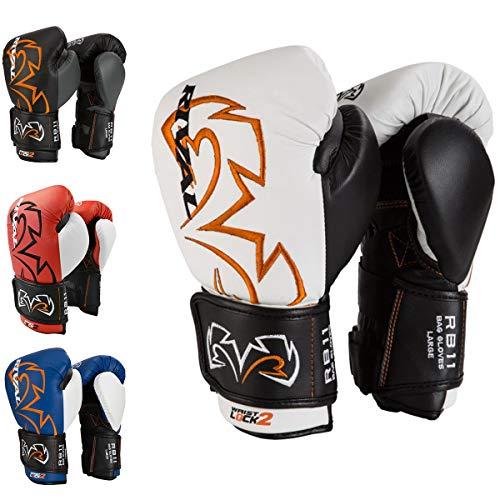 Rival Boxing Evolution Bag Gloves - Medium - White