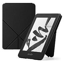 Funda protectora de piel Origami para Kindle Voyage, Negro