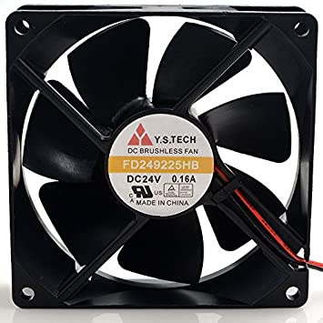 Y S TECH FD249225HB 9025 24V 0 16A 9CM Inverter Cooling Fan: Amazon