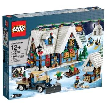 Amazon.com: LEGO Creator Expert Winter Village Cottage 10229: Toys ...