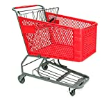 Shopping Cart Plastic Basket Super Market Convenience Store Fixture Lot of 6 NEW