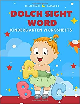 PDF Descargar Dolch Sight Word Kindergarten Worksheets