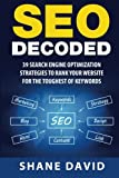 SEO Decoded: 39 Search Engine Optimization Strategies To...