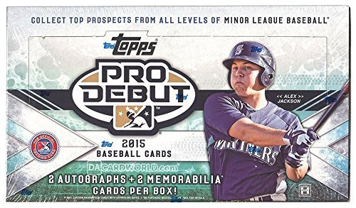2015 Force Attax Pro Debut Baseball Hobby Box by Force Attax