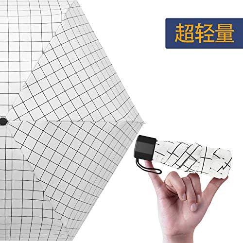 超軽量(210g) 折りたたみ傘 日傘 100%完全遮光遮熱 UVカット率99% 折りたたみ傘 UV加工塗装 超耐風撥水 晴雨両用 ミニ傘 携帯しやすい 男女兼用 プレゼントオススメ (ホワイトストライプ)