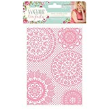 embossing folders vintage - Sara Davies Vintage Tea Party Collection - Embossing Folder - Doily Delights