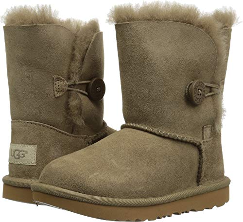 UGG Unisex Baby T Bailey Button II Fashion Boot, Antilope, 10 M US Toddler]()