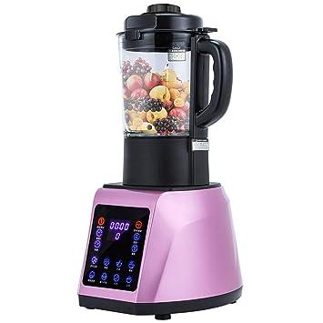 Exprimidor lento de 800 vatios: frutas y verduras caseras, función inversa, exprimidor en frío, acero inoxidable: Amazon.es: Hogar
