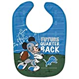 "Detroit Lions Mickey Mouse Disney""Future Quarterback"" Bib"