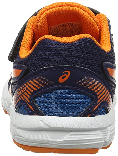 Asics Gt-1000 5 Ts, Zapatillas Infantil Azul (Indigo Blue/hot Orange/thunder Blue)