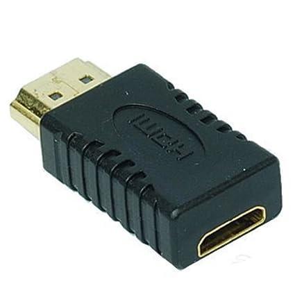 52b04f03a9761 Adaptador HDMI Macho a Mini HDMI Hembra Extensión  Amazon.es  Informática