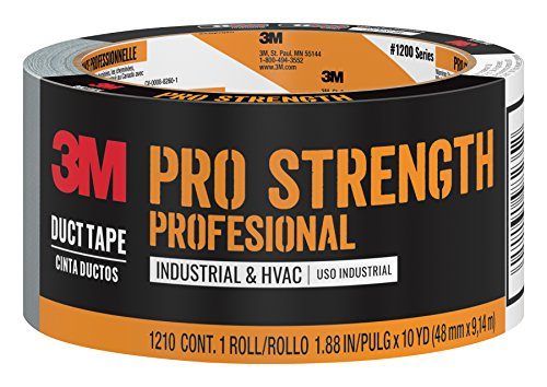 3M Pro Strength Duct Tape, 1210-A, 1.88 Inches by 10 Yards