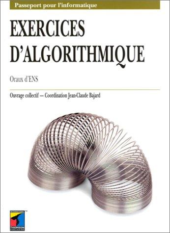 PDF] Tlcharger Exercices d'algorithmique. Oraux d'ENS par Jean ...