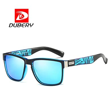 Amazon Com Dubery Polarized Sunglasses For Men Coating Fashion