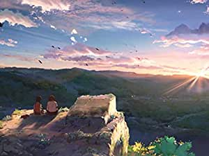Hoshi wo Ou Kodomo - Art Print on Canvas (28x20 inches, unframed)