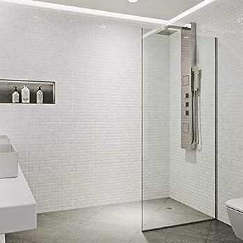 Celesta Series Sr910 Fixed Glass Bathtub Shower Screen 24