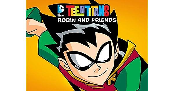 Amazon.com: Teen Titans Go! Robin and Friends: Greg Cipes ...
