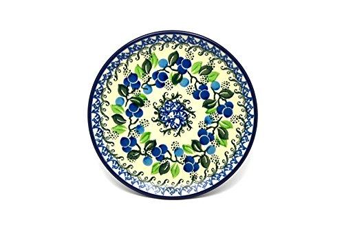 Polish Pottery Ceramic Plates (Polish Pottery Plate - Bread & Butter (6 1/4