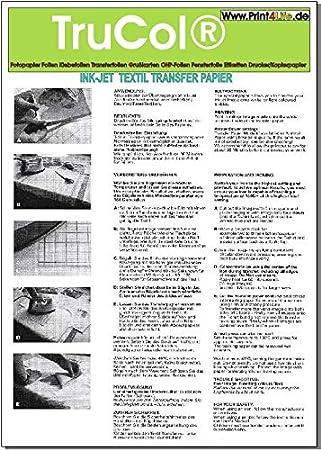 25 hojas DIN A3 película de transferencia papel de ...