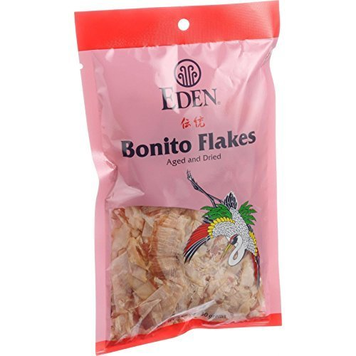 Eden Bonito Flakes, Aged and Dried, 1.05 Ounce , Pack of 12
