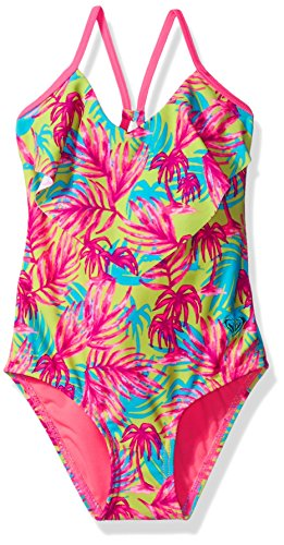 Roxy Baby Girl - Roxy Baby Girls' Paradise Beach One Piece, Knockout Pink, 6-12 Months