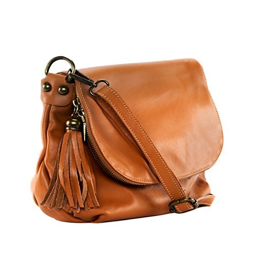 bandolera coñac Modelo Bag pequeño Oh piel de horas mujer para 72 Bolso My q711Tt