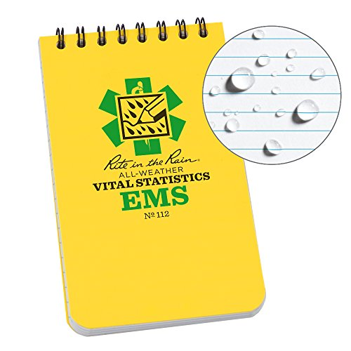 Rite in the Rain Weatherproof EMS Notebook, 3