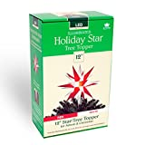 Keystone 5200LED Tree Topper Star Christmas Decoration (Red & White)