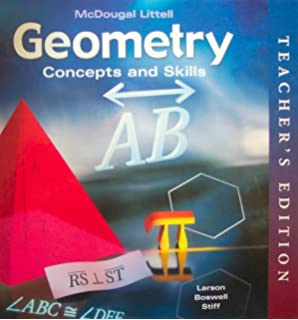 Geometry: Concepts and Skills: Practice Workbook with Examples ...